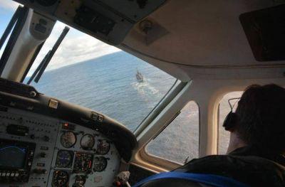 Aeronave marplatense encontró nuevos rastros del Rigel