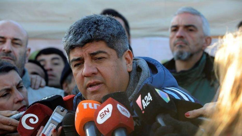 Pablo Moyano volvió a amenazar con extender el paro de Camioneros tras la huelga de la CGT