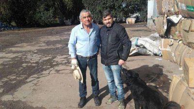 Visita de Medio Ambiente a la planta de separación de residuos RUCALIM
