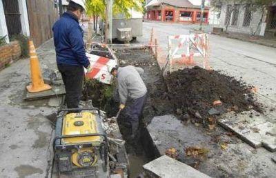 OSSE avanza con la construcción de nuevos sumideros y la remodelación de los existentes