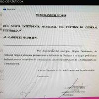 Arroyo restringe el contacto de sus funcionarios con la prensa
