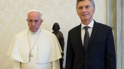 El aborto legal colocó en su nivel más bajo a la relación Papa-Macri
