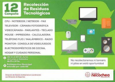 Recolección de Residuos Tecnológicos: La campaña sigue por una semana más