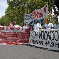 Paro de médicos y trabajadores de la salud: piden aumentos y mejoras en hospitales