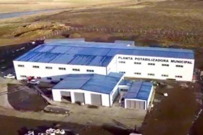 """La planta potabilizadora de Río Grande """"no está terminada y está trabajando parcialmente"""", afirmó Worman"""