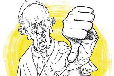 Francisco: temblor local por la resonancia política de sus palabras