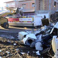 En Valentina Sur sacaron hasta autos rotos como basura