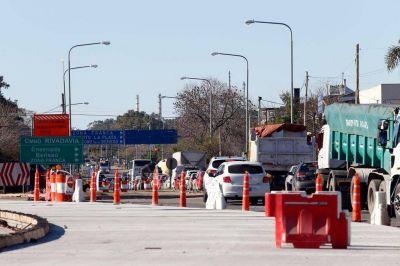 Una obra mal hecha en la Autopista hace ruido en el gabinete de Vidal