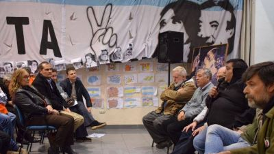 El PJ La Plata adhirió al paro de la CGT
