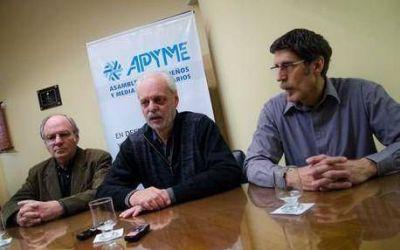 """Un sector Pyme anuncia un """"persianazo"""" durante el paro del lunes"""