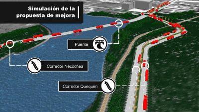 Corredores de camiones, túneles y un nuevo puente: La propuesta de UNICEN para el Puerto