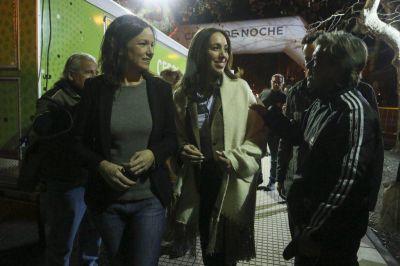 Vidal y Stanley participaron del Operativo Frío por las calles