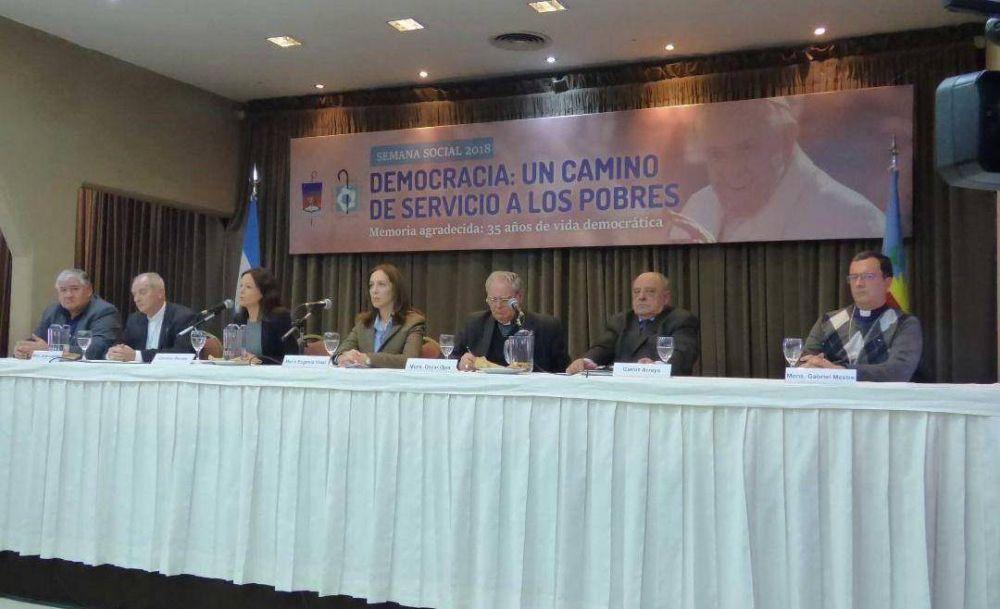 "Monseñor Lugones a Vidal: ""Construimos cárceles pero no habilitamos hospitales"""