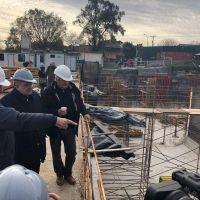 Avanza la obra del Centro de Abastecimiento de Agua de Tucuman y Almafuerte