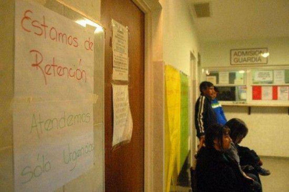 Los hospitalarios se movilizan hoy en Cipolletti
