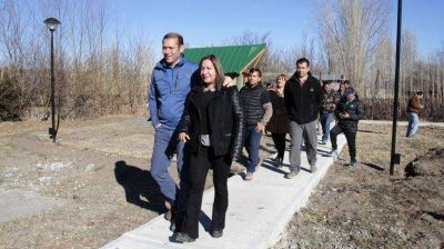 Provincia aportó $1,5 millón para la planta cloacal de Las Lajas