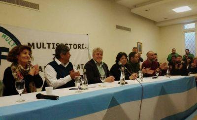Moyano pidió a los gremialistas continuar con el reclamo tras el paro del lunes
