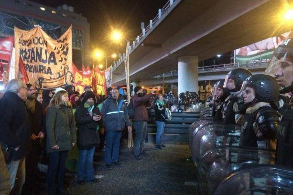 Comenzaron cortes y piquetes en los principales accesos del Gran Buenos Aires y Capital Federal