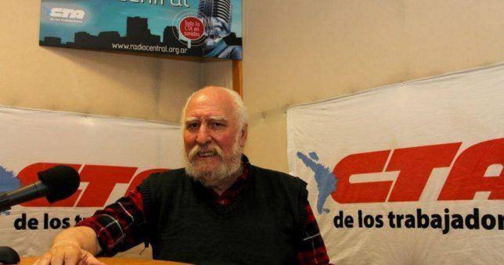 "Falleció ""Nono"" Frondizi, histórico dirigente de ATE"