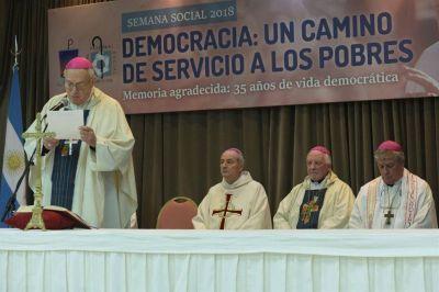 La Iglesia retomó las críticas con citas del Papa