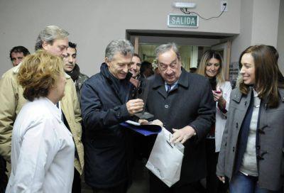 Tandil: El intendente recibió al presidente Macri y la gobernadora Vidal