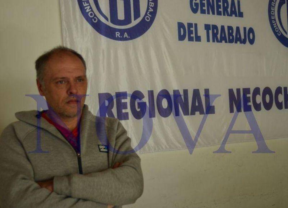 Demian Ledesma resaltó el alto acatamiento del paro nacional en Necochea