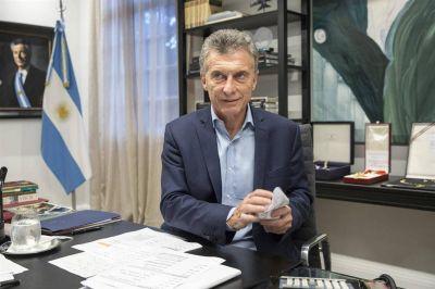 Macri prepara medidas para evitar la recesión
