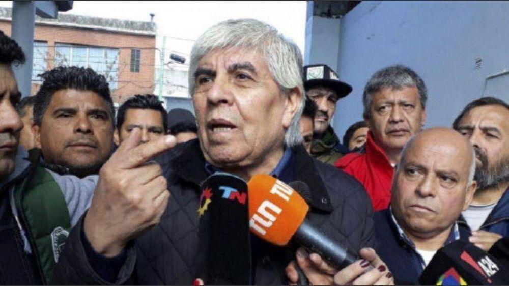 Moyano marca diferencias y asegura que ya no hay margen para el diálogo
