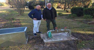 Terminaron las tareas para la provisión de agua potable en Cululú