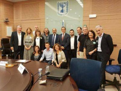 AMIA: Agenda de reuniones en Israel para impulsar la Red Escolar Judía en la Argentina