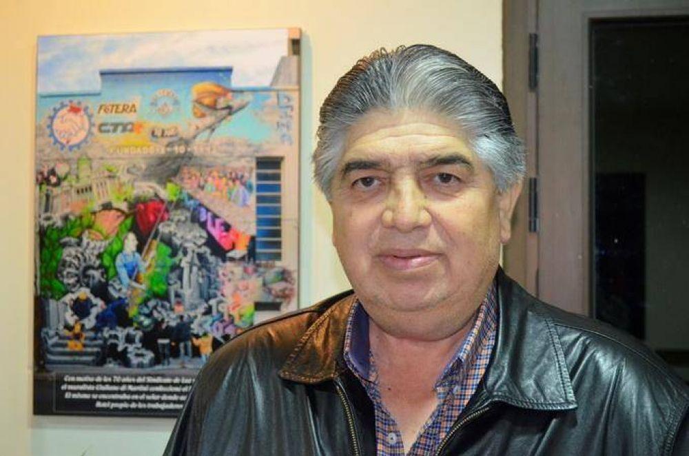José Rigane candidato en el CTA Nacional en las elecciones de este jueves