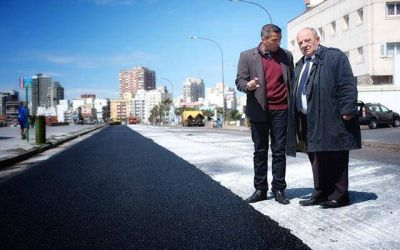 El Municipio anunció que construyó 143 cuadras de nuevo pavimento
