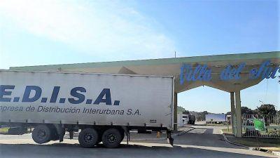 En Villa del Sur, el cese de la relación laboral fue para los camioneros