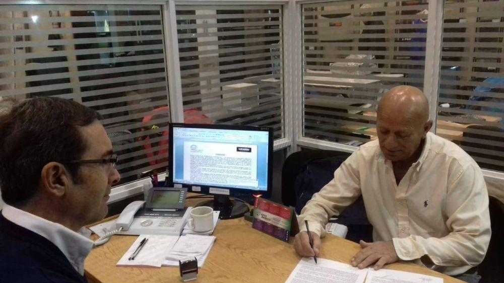 S.T.M.N.: Importante convenio se firmó con la firma comercial Lucaioli