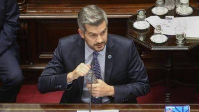 Marcos Peña en el Senado: defendió el acuerdo con el FMI, reafirmó el rumbo económico del Gobierno y recibió criticas de la oposición