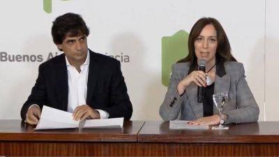 María Eugenia Vidal anunció el pago anticipado del medio aguinaldo