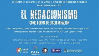 Se realizará un panel sobre el negacionismo como forma de discriminación