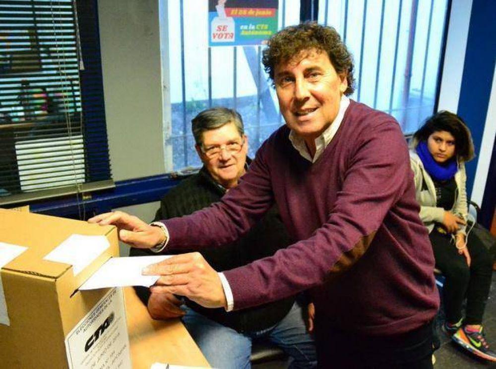 La Lista 1 Azul y Blanca de Micheli- Rigane triunfó en la CTA Autónoma