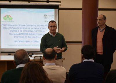 Esteban Echeverría pone en marcha un Plan Hídrico para reducir las inundaciones en el distrito