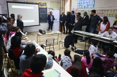 Educación ambiental en las aulas para separar los residuos