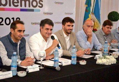 Vidal recibió a intendentes de Cambiemos por los recortes en la obra pública