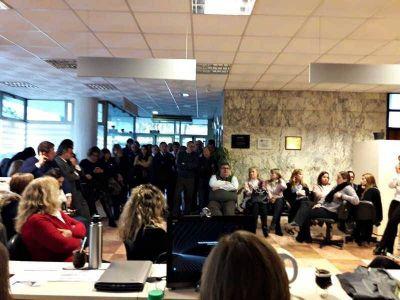 Trabajadores de AEFIP se reúnen con autoridades del Ministerio de Trabajo