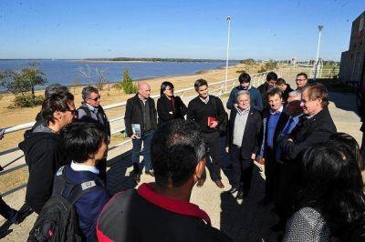 Bordet acordó con el BID obras de saneamiento para el río Uruguay