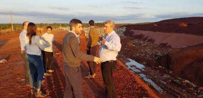 La Provincia avanza con el plan de gestión de residuos en la región de la tierra colorada