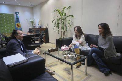 Vidal se reunió con Dante Sica y Carolina Stanley, con foco en el desarrollo y la producción
