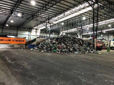 Por ahora, la nueva planta de la Ceamse procesa el 25% de la basura de la Región
