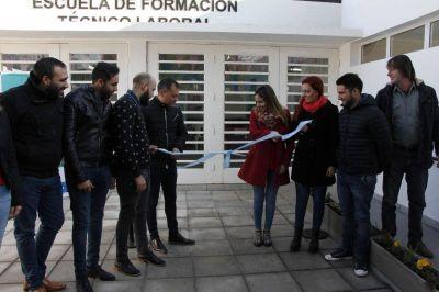 Inauguran Escuela de Formación Técnico Laboral en Moreno