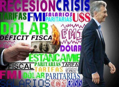 Macri asume que lo peor recién empieza y se resigna a medidas