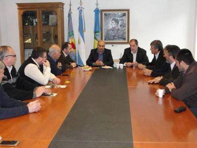 """En Balcarce: """"Queremos que nuevos actores deriven sus cargas desde el Puerto de Mar del Plata"""""""