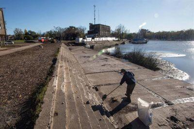 Por falta de fondos, están paralizadas las obras en el Puerto de San Isidro